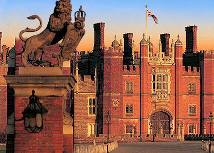 El espíritu de Catalina Howard en Hampton Court