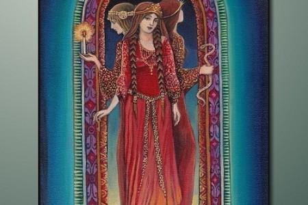 Hécate, la oscura diosa de tres cabezas