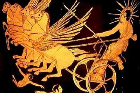 Helios, el dios Sol