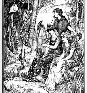 Hermod, el veloz hijo de Odín