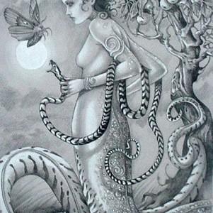 Lamia, la vampira de la mitología griega