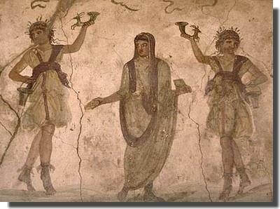 Los lares romanos, dioses del hogar