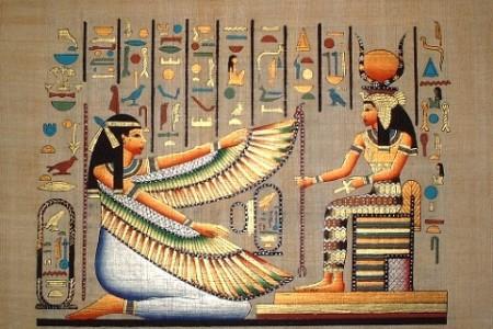 Maat, diosa egipcia de la Justicia y el Equilibrio