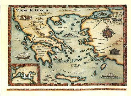 Mar Egeo e Islas Griegas