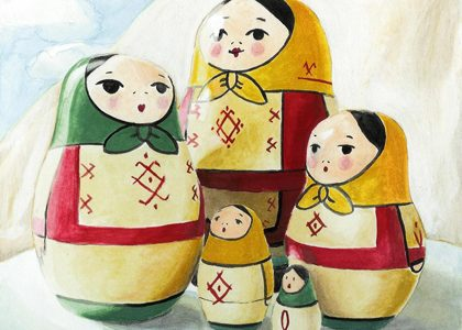 La leyenda de la muñeca Matrioska
