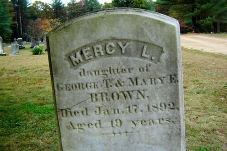 Mercy Brown, la última vampira de Nueva Inglaterra