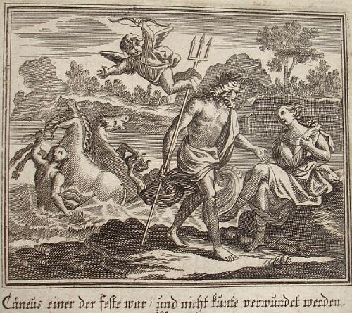 Neptuno y Caenis