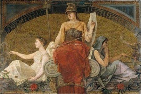 El mito de Minerva, diosa romana de la guerra
