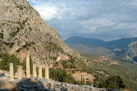 Parnaso y el Oráculo de Delfos