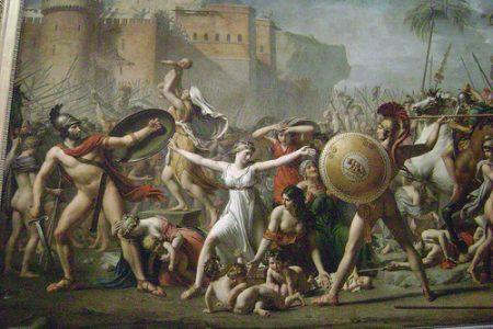 Hersilia, en la mitología romana