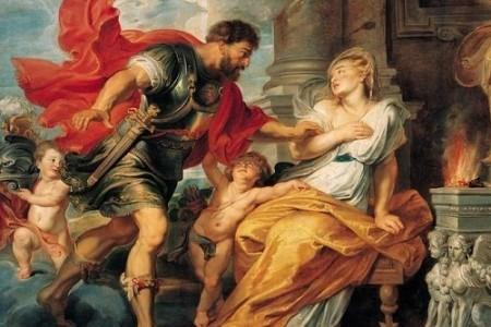 Rea Silvia, madre de Rómulo y Remo