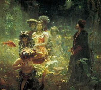 La leyenda eslava de Sadkó, el músico