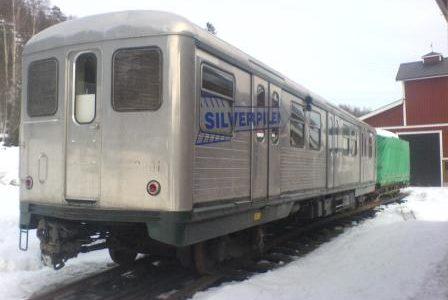 Silverpilen, un tren fantasma en Estocolmo