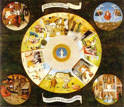 Mesa de los pecados