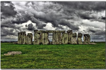 La construcción de Stonehenge