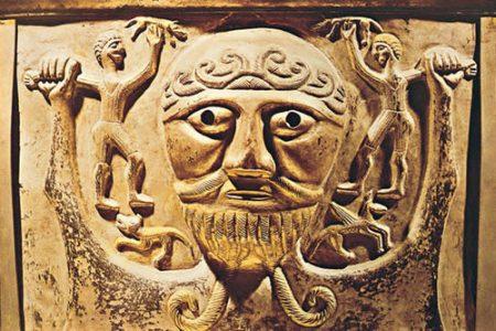 El dios Taranis, mito celta