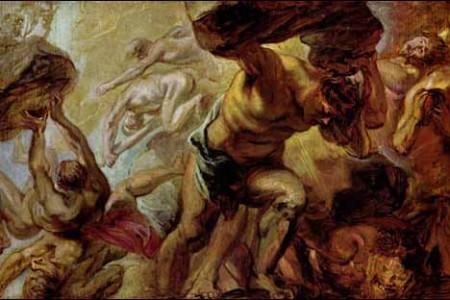 El mito de la Titanomaquia