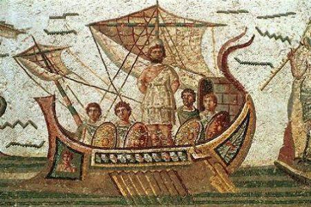 Ulises y las Sirenas, Escila y Caribdis