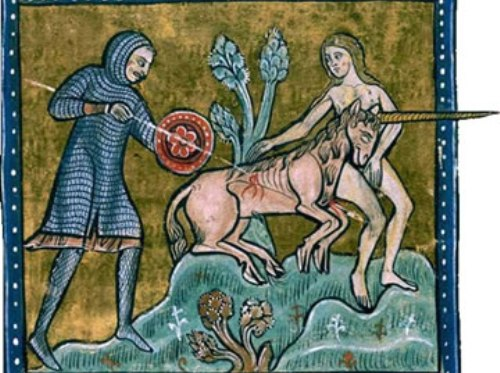 Unicornio en Edad Media
