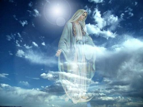 Aparicion de la Virgen
