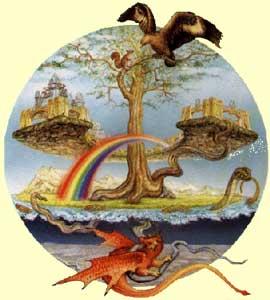 Yggdrasill en la mitologia nordica